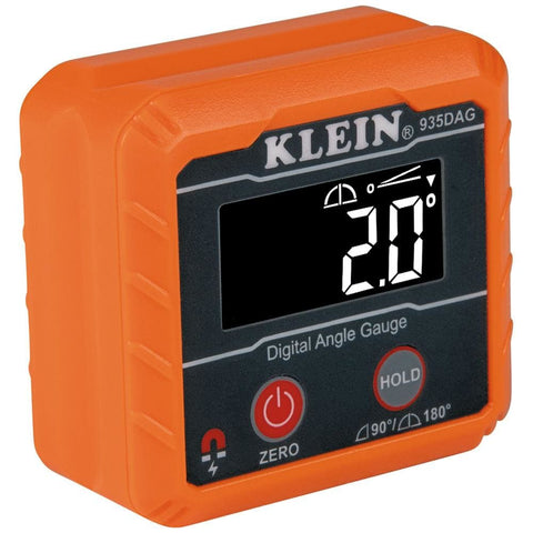 KLEIN TOOLS DIGITAL ANGLE GAUGE & LEVEL - Electrical | Tools