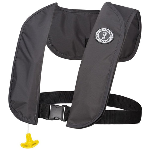 MUSTANG MIT 70 INFLATABLE PFD AUTOMATIC ADMIRAL GRAY -