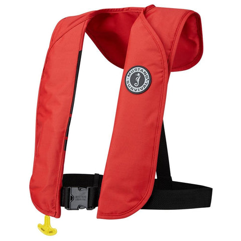 MUSTANG MIT 70 INFLATABLE PFD MANUAL RED - Marine Safety |