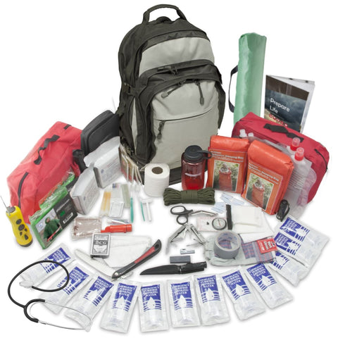 Stealth Tactical Bug-Out Bag - 2 Person - Survival Kit