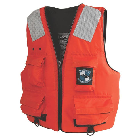 STEARNS FIRST MATE LIFE VEST I422 LARGE/XL ORANGE -