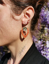 Load image into Gallery viewer, Boucles d'oreilles Penja'bi Terracotta