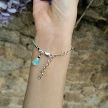 Load image into Gallery viewer, Bracelet Comme les grands turquoise