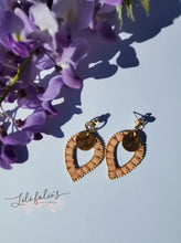 Load image into Gallery viewer, Boucles d'oreilles Penja'bi Rose
