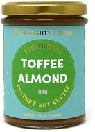 Almighty - Toffee Almond Gourmet Nut Butter