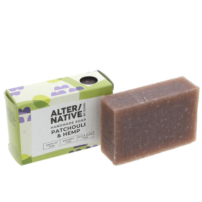 ALTER/NATIVE SOAP - PATCHOULI & HEMP