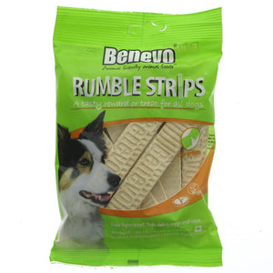 Benevo Rumble Dog Strips - soft and chewy 180G