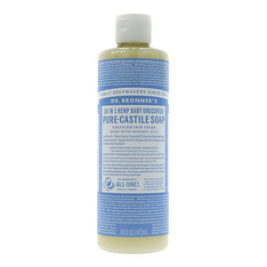Dr Bronner's Baby Castile liquid Soap 473ML