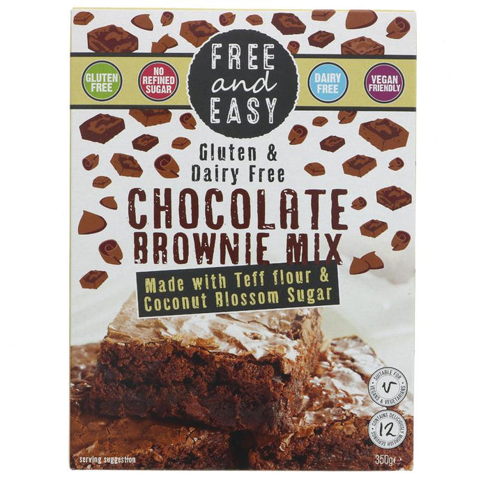 FREE & EASY GF BROWNIE MIX