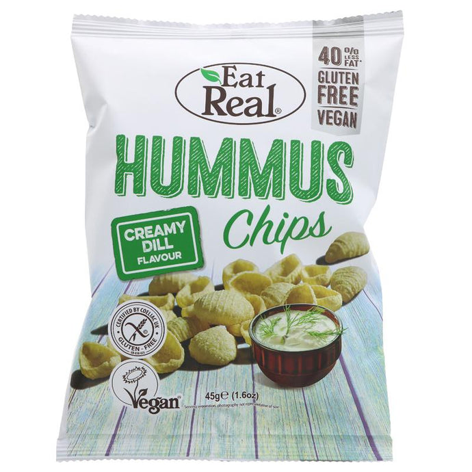 EAT REAL HUMMUS CHIPS CREAMY DILL
