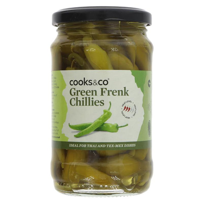 COOKS & CO GREEN CHILLIES