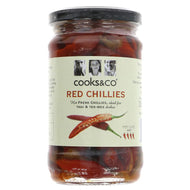 COOKS & CO WHOLE RED CHILLIES