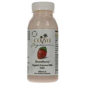Coyo Strawberry Coconut Kefir Drink 200ML