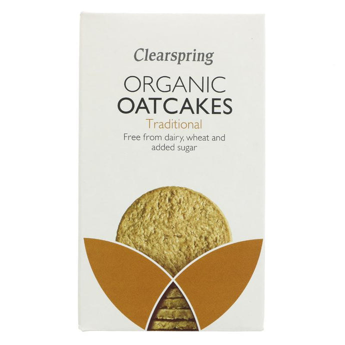 CLEARSPRING ORGANIC OATCAKES