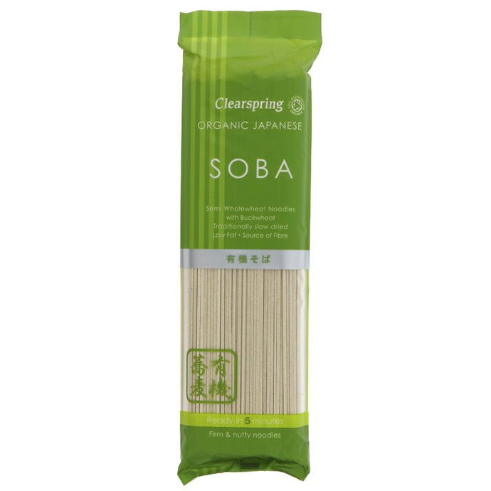 Clearspring Soba Noodles 200G (max 2 per customer please)