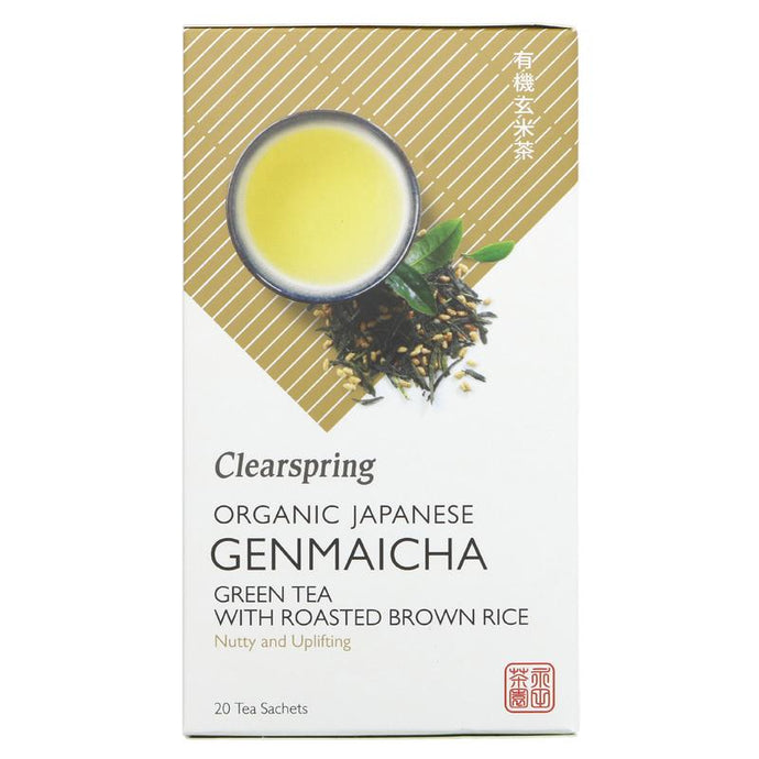 Clearspring Genmaicha Green Tea Tea Bags
