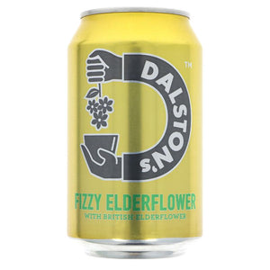 DALSTONS FIZZY ELDERFLOWER CAN