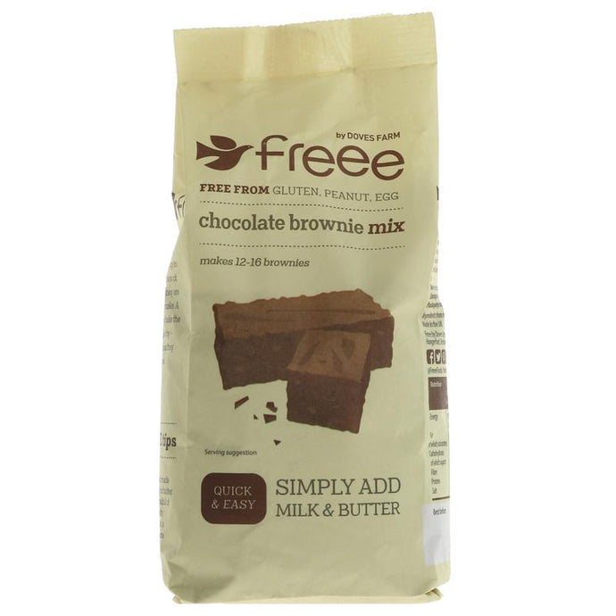 Doves Farm Chocolate Brownie Mix 350G