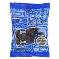 Fabulous Free From Factory Chocovered S/Salt Fudgee Bites 65G