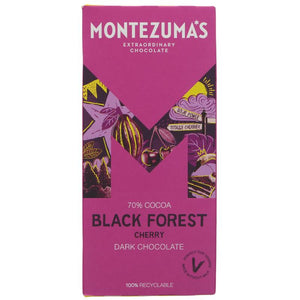 MONTEZUMAS BLACK FOREST GATEAU 90g