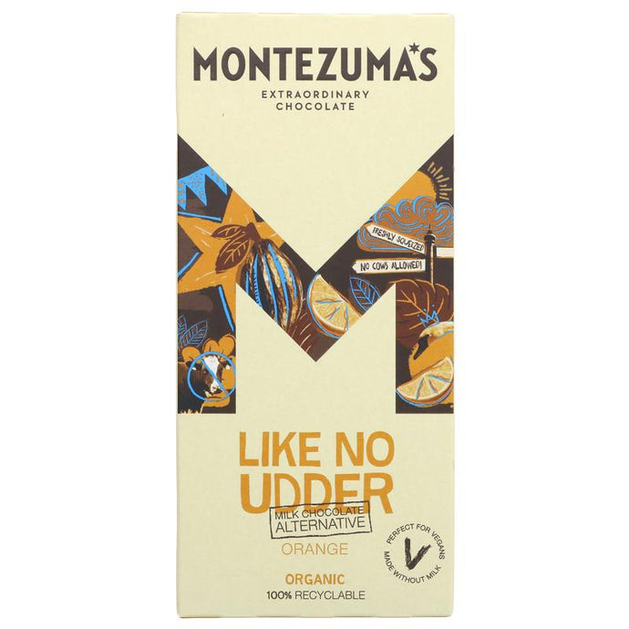 Montezuma's Milk Choc/Orange Alternative 90G