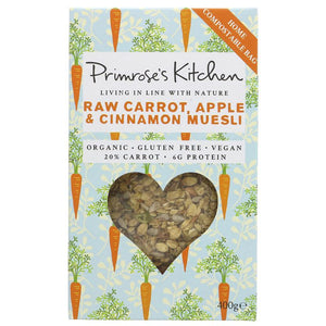 Primrose's Kitchen Carrot Apple & Cinnamon Muesi 300G