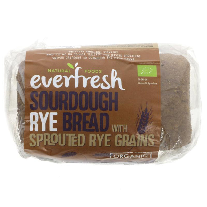 Everfresh Natural Foods Rye Sourdough Bread 400g