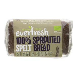 Everfresh Natural Foods Sprouted Spelt Bread 400g