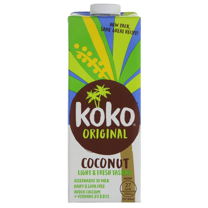 KOKO COCONUT MILK ORIGINAL 1L