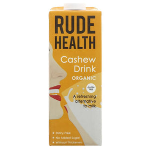 Rude Health Foods Cashew Drink - Organic 1L