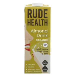 Rude Health Foods Almond Drink - Organic 1L