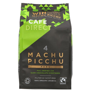 Cafedirect Machu Picchu Organic Ground 227G