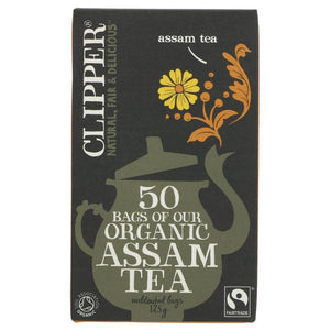 CLIPPER ORG ASSAM TEABAGS 50s