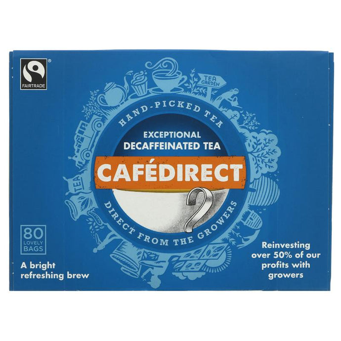 Cafedirect Everyday Tea Decaff 80 BAGS