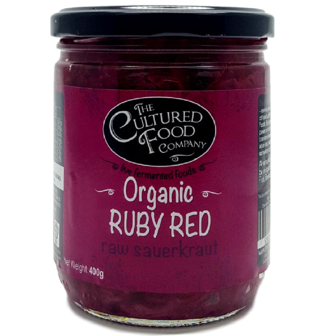 Cultured Food Company Raw Ruby Red Sauerkraut 400G