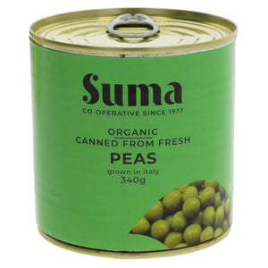 SUMA CANNED FROM FRESH PEAS