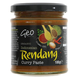 Geo Organics Indonesian Rendang Curry Paste 180G