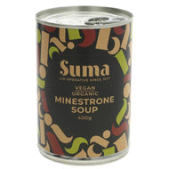 SUMA ORG MINESTRONE SOUP NEW