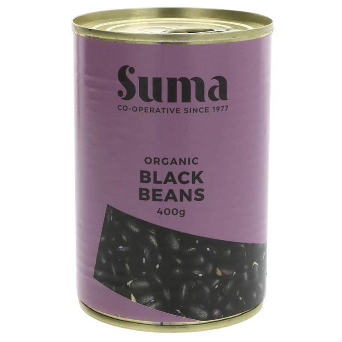 Suma Black Beans - organic 400G (max 2 per customer please)