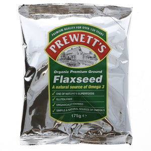 Prewett's Organic Ground Flaxseed 175G