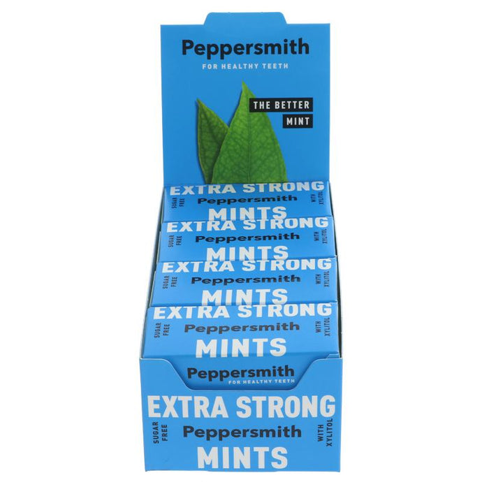 Peppersmith Extra Strong Mints 15g
