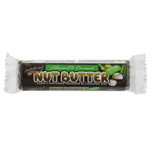 HADLEIGH ALMOND COCONUT BAR 40G
