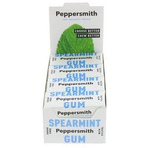 Peppersmith Spearmint Chewing Gum 15G