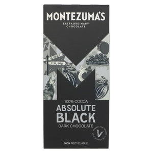MONTEZUMAS BLACK 100% BAR