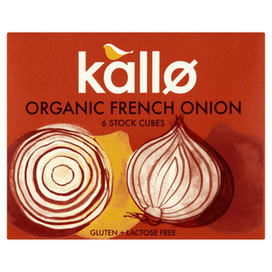 Kallo Organic French Onion Stock Cubes