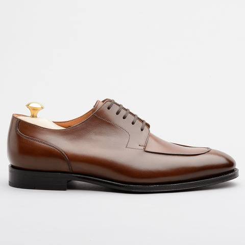 George Split Toe Derby Brown Vegano Calf | Sons of Henrey