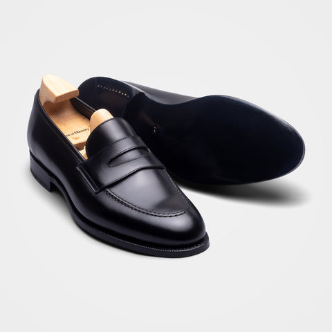 Penny Loafer Weinheimer Black Calf