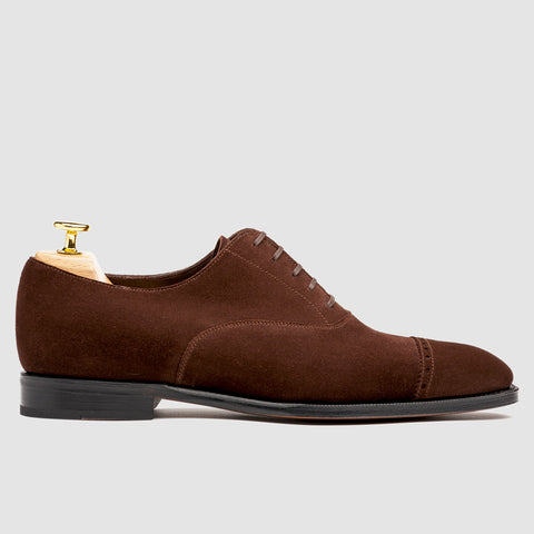 Harvey Captoe Oxford Mole Suede | Sons of Henrey