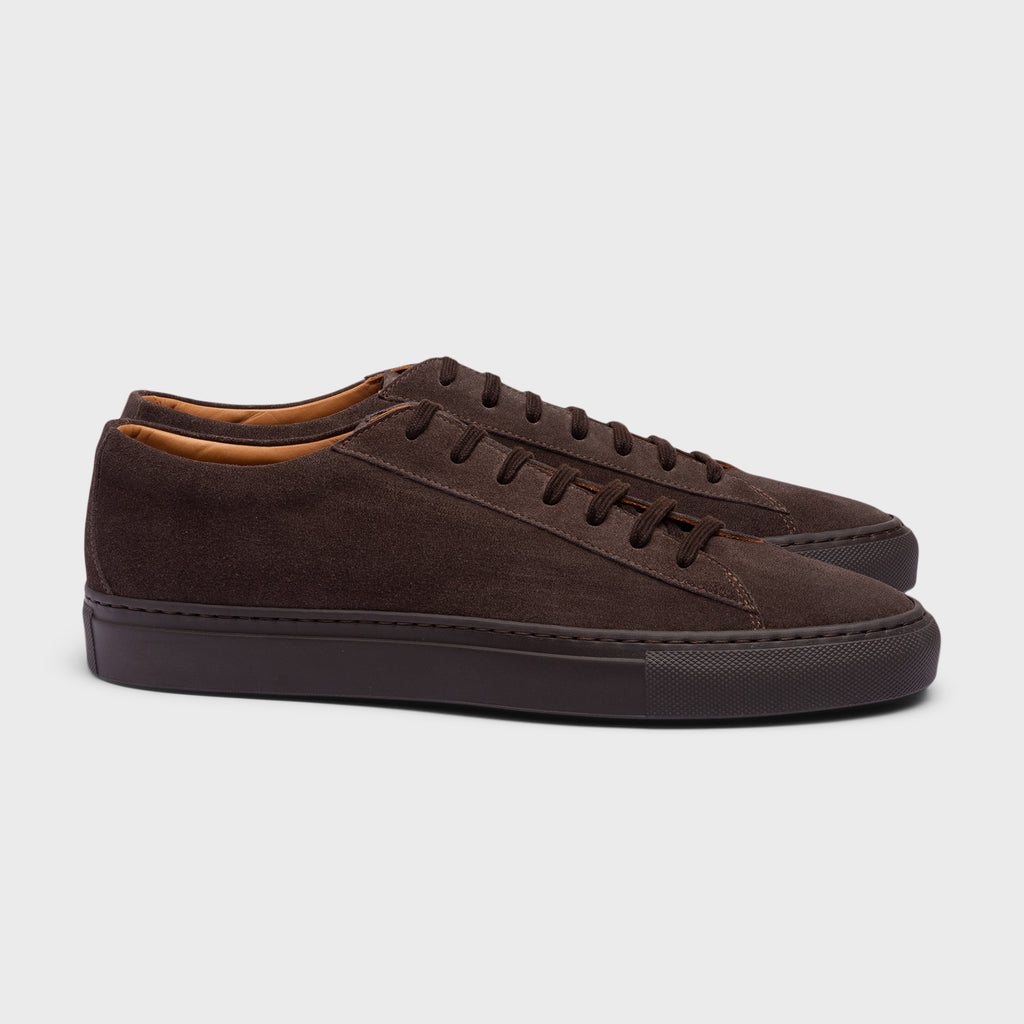 Vekla Brown Suede