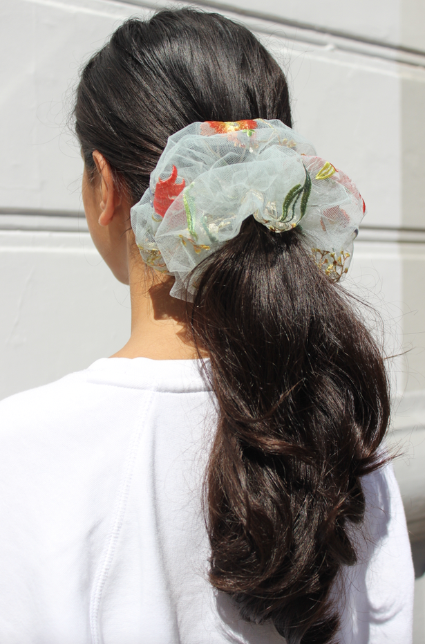 Pico - Flower Field Scrunchie